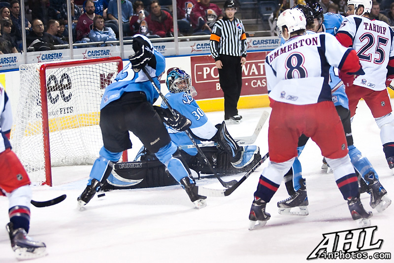 AHL (American Hockey League) in Photos- Jeremy Smith Milwaukee Admirals
